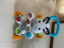 Caminador musical de fisher price