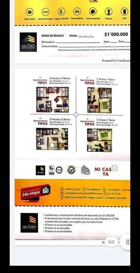 Venta cesión de derechos Apto parque residencial San Luis Rey Etapa II