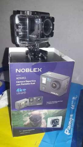 Vendo cámara deportiva Noblex nueva en caja 8500