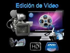 EDICION DE VIDEO Y TRANSFER DE CINTA A DVD