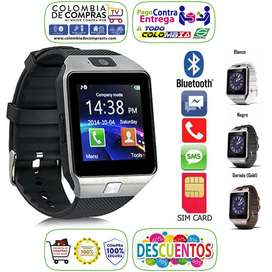 Reloj Inteligente Tipo Gear 2 Homologado Smartwatch Cámara, SimCard, microSD, Bluetooth, Android, Nuevos, Garantizados