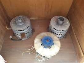 Motores de lavarropas funcionando