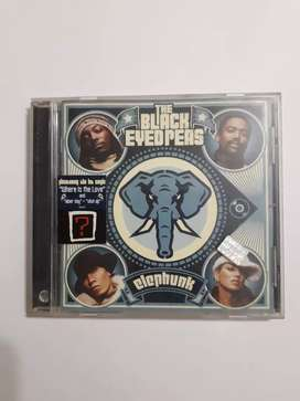 ELEPHUNK The Black Eyed Peas Cd Original usado