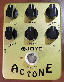 Pedal de guitarra electrica Joyo AC Tone (simulador VOX amp) segunda mano  Perú