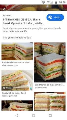 Dueños venden Franquicias de sandwicheria a estrenar