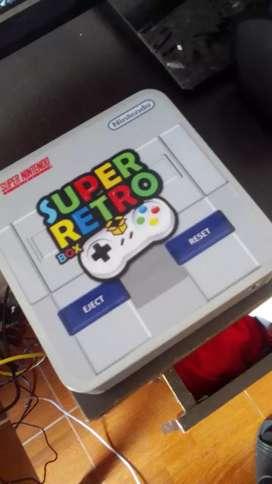 Consola retrobox con 10 consolas
