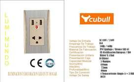 TOMACORRIENTE USB A7-032