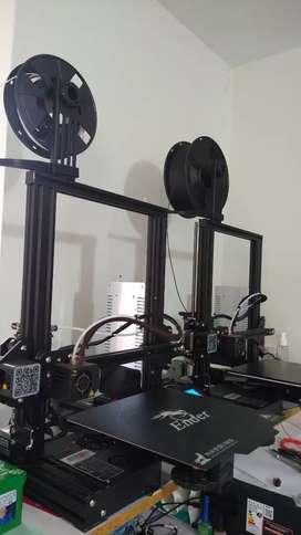 Vendo 2 impresoras 3D ender 3 perfecto estado