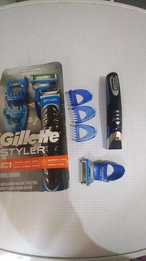 Aproveché Maquina afeitar Guillete Styler 0
