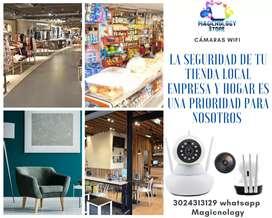 Gran promoción cámara de seguridad wifi ideal para tu negocio local  empresa y hogar buen soporte técnico