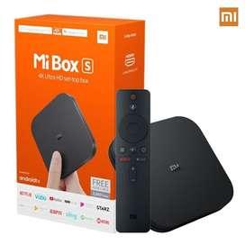 XIAOMI MI BOX S 4K ULTRA HD ANDROID CONVERSOR SMART TV 2GB RAM 8GB ROM
