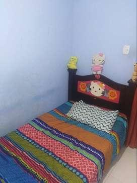 arriendo habitación amoblada Girón dama ($230k) puerto madero con derecho condicionado a cocina y nevera wifi