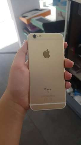 Vendo iphone 6s de 32 con cargador