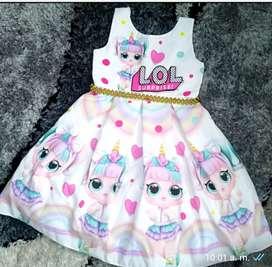 Vestidos lol de niñas COOL