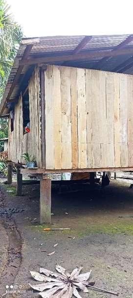 Una casa de madera para desarmar y llevar