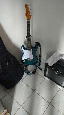 Vendo Guitarra JT 300 Jay Turser Stratocasterster Zurda