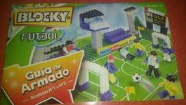 Blocky Futbol 2 Bloques 190 Piezas C/ 8 Muñecos
