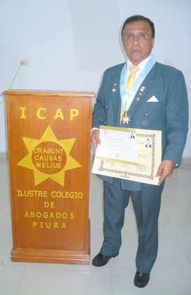 CENTRO DE CONCILIACION GRAU DE PIURA - CLUB DRAGON DORADO DE PIURA - ESTUDIO JURIDICO DE PIURA .Dr. EDUARDO GALLO FARFAN