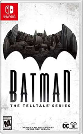 batman teallte series para nintendo switch