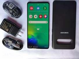 Samsung S10 plus 128 GB verde coral dual sim