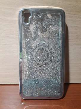 Funda Tpu Liquid Movible Agua Brillos Glitter Huawei Y6