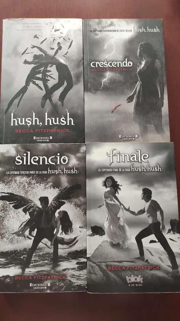 Vendo o cambio saga Hush Hush original (literatura juvenil)