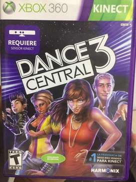 Videojuego dance central 3 kinect original