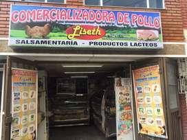 Venta de avícola y salsamentaria