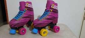 Vendo patines soy luna de segunda