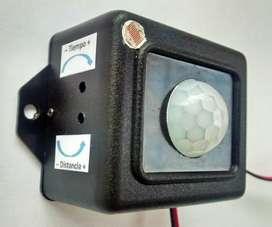FOTOSENSOR PIR 12 VOLTIOS – Ideal para Sistemas de Iluminación Solar Fotovoltaico