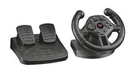 Timon Trust Pedales Gxt 570 Compact Vibration Racing Wheel