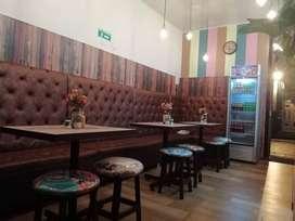 Muebles para Restaurante y Cafetería