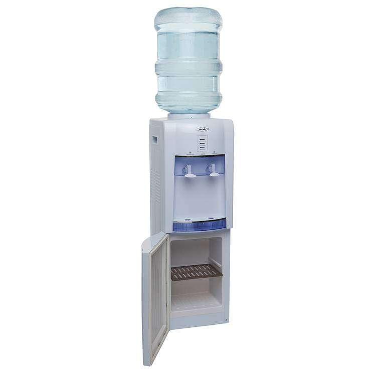 Dispensador de Agua HACEB 2 Llaves CON Gabinete Blanco