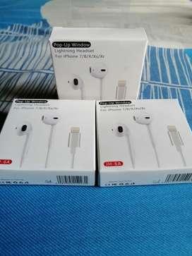 Audífonos  iPhone 6 7 8 x xs xr 11