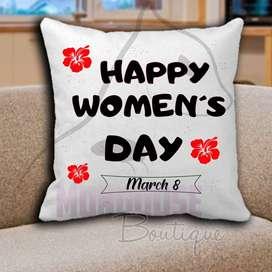 Combo dia de la mujer Cojines personalizado + mug