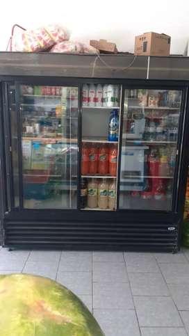 Vendo heladera de 3 puertas