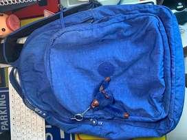 Bolso Kipling azul original