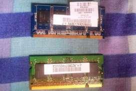 Memoria Ram 512 Mb Oferta 2unidades X El Precio De 1 Garantizadas