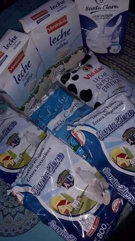 Vendo leches todas a 600