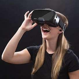 Gafas De Realidad Virtual Tzumi, Color Negro Dream Vision