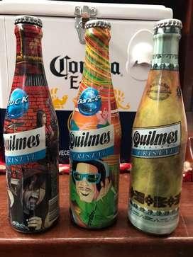 Botellitas Quilmes. Coleccionable.