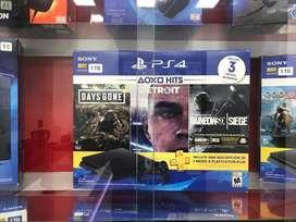 PS4 3 JUEGOS