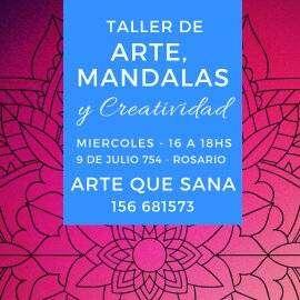 TALLER DE ARTE, MANDALAS Y CREATIVIDAD
