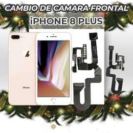 ¡Cambio de Cámara Frontal de Iphone 8 plus!