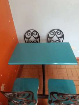 Mesas poco uso oferta