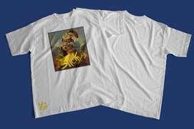 Camiseta Monalisa diseño exclusivo