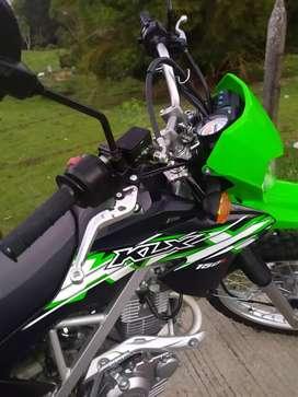 Klx 150 como nueva