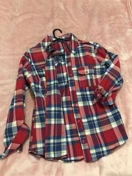 Camisa Cuadrille,Talle 1