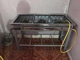 Vendo cocina de industrial nueva