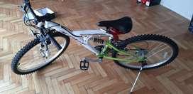 Bicicleta montan bike - vendo por mudanza-
